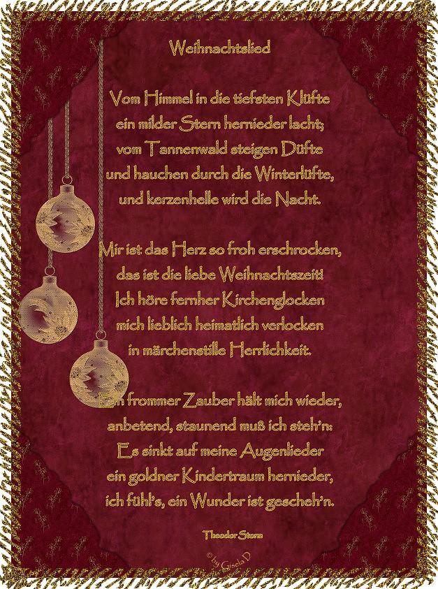Gedicht von Theodor Storm