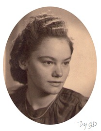 Meine Mutter als junge Frau