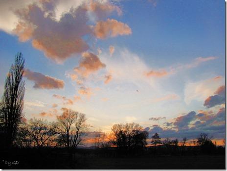 Haßloch Sonnenuntergang