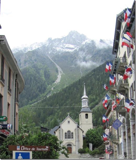Kirche Chamonix