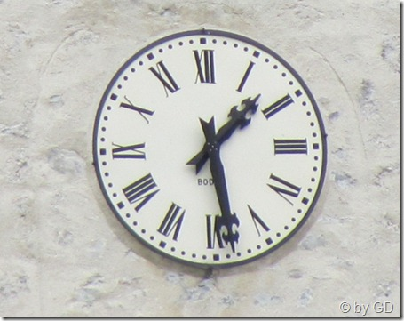 Uhr Chamonix