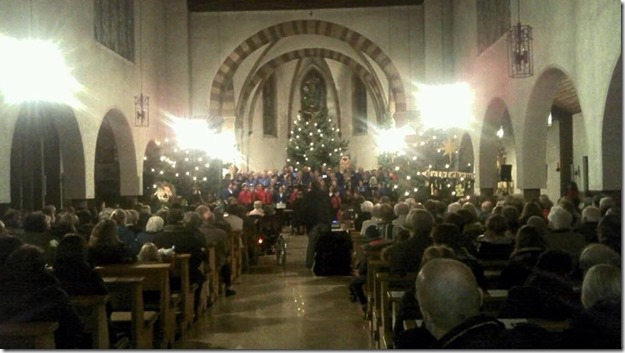 Weihnachtlicher Januar  in Niederkirchen