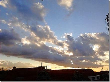 Himmel über Scherlebeck