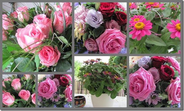 Blumenstrausse zum Geburtstag