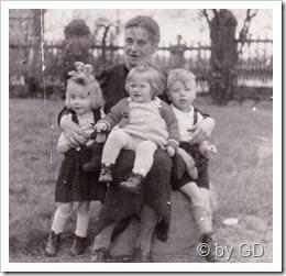 Oma Cousine und Cousin