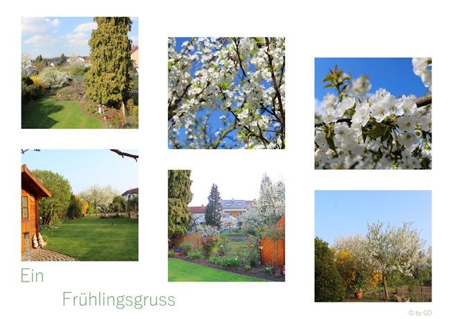 Gartencollage